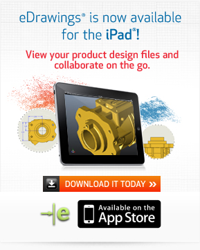 eDrawings is now available for the iPad